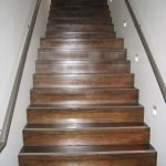 Black Japan stained stairs in Surry Hills