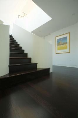 Stairs from solid Wenge in Bellevue Hill