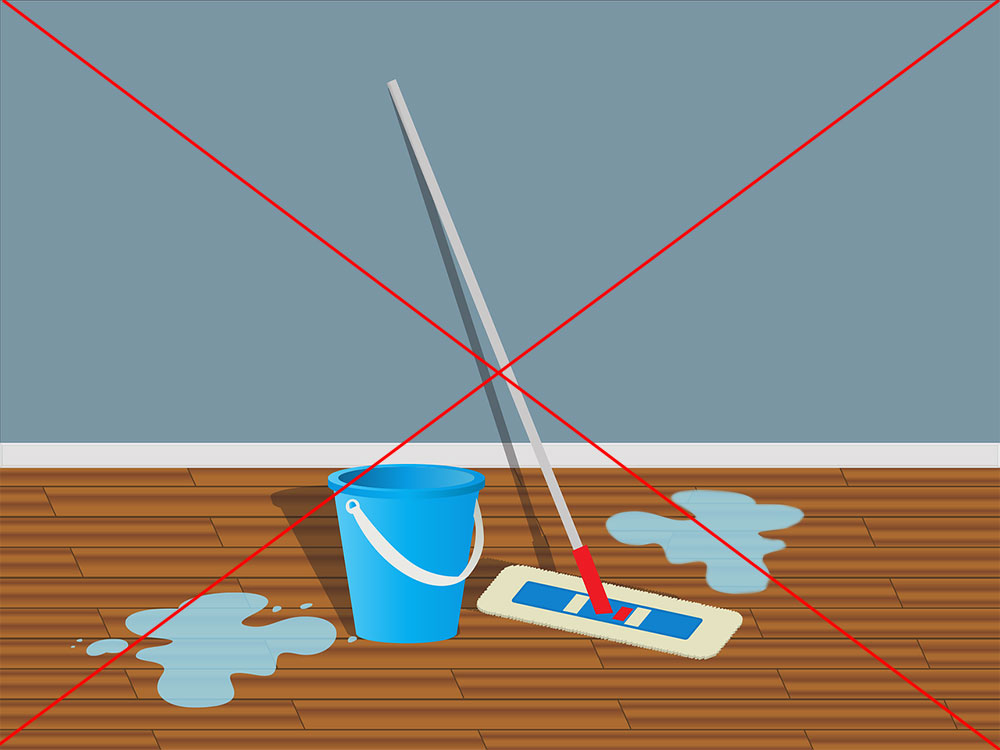 water mopping